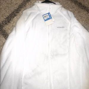 White Columbia fleece jacket